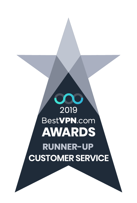 BestVPN.com Awards 2019 - Best Customer Service